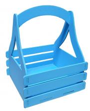 Ящик  16*16*20 (голубой)