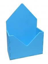 Кашпо Конверт  15*7*23 (голубой)