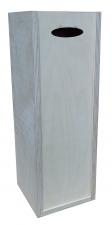 Ящик для вина гл.крышка 12*12*35 (ЦФ)