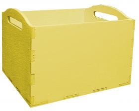 Кашпо 10*12*10 (желтый)