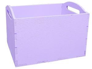 Кашпо 10*12*10 (фиолетовый)
