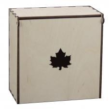 Короб под макаруны с листом 18*18*11