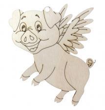 Фигурка Свинка с крыльями 10*8